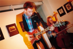 The Winter live at Photospace Gallery, July 2003 (photo by James Gilberd)