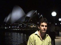 Dave at Sydney Opera House, NSW, Australia