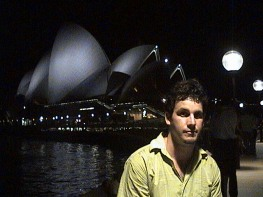 Dave at Sydney Opera House, NSW, Australia