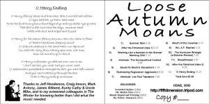LAM CD credits2