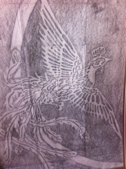 Pencil rubbing by Cylvi M from Okinawa, Japan