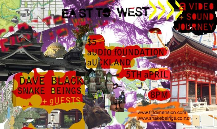Saturday 5th April 2014, Audio Foundation, Auckland