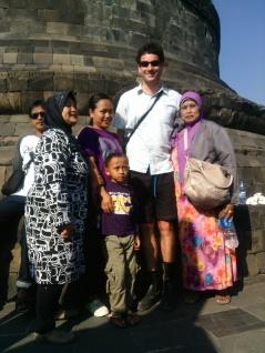 Borobudur temple, Central Java, Indonesia, 2014