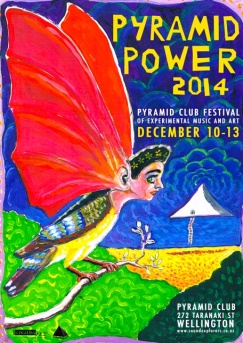 Pyramid Power festival, Wellington, 10-13 December 2014