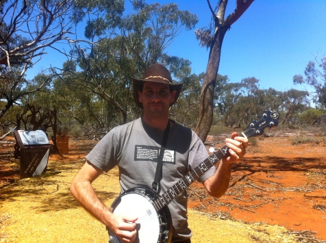 Dave Black in Western Australia, 2013