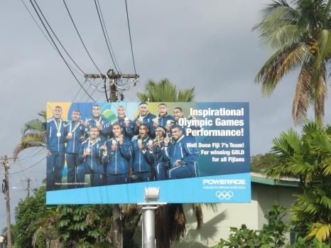 Fiji won gold in the Rio Olympics 206