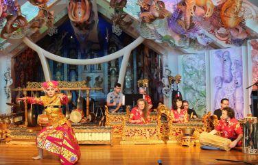 Gamelan Taniwha Jaya at Te Papa (rehearsal), 2016