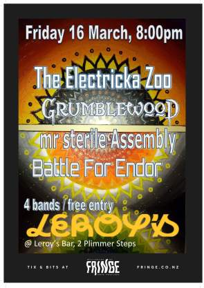 The Electricka Zoo, 16-03-18